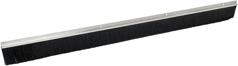 FIXMAN 447234 - Burlete para puertas de garaje de aluminio, cerdas de 50 mm (Cerdas de 2.134 mm, aluminio)