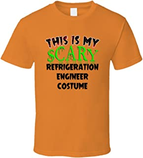 SHAMBLES TEES This is My Scary Refrigeration Engineer Halloween Cool Trending Job T Shirt