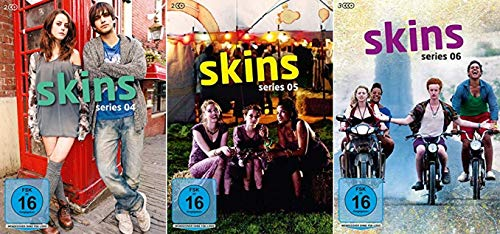 Skins - Hautnah Staffel 4-6 (4+5+6) [DVD Set]
