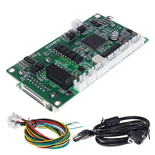 UCONTRO SUMACH CNC 4 Axis USB Motion Control Card Breakout Board 150 KHz MACH3 5V DC Analog PWM support MPG for DIY 3020 3040 6040 Machine
