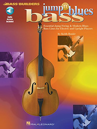 Jump 'N' Blues Bass Bass Builders (Book & CD): Noten, CD für Bass-Gitarre