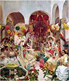 Sevilla, la Danza DIY Pintura al óleo por números Kits Lienzo Regalo para adultos Cumpleaños Boda nuevo alojamiento o decoraciones