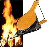 Amagabeli Fireplace Fuelle de chimenea de madera grande soplador...