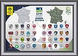 LFP – Collezione di spille emblemi delle squadre della Conforama Ligue 1 & Domino's Ligue 2 stagione 2017/18