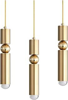 シャンデリア、3個LEDゴールドフラッシュマウントダイニングルームハンギングライト天井、調節可能なホルダースポットライト、キッチンアイランド照明用