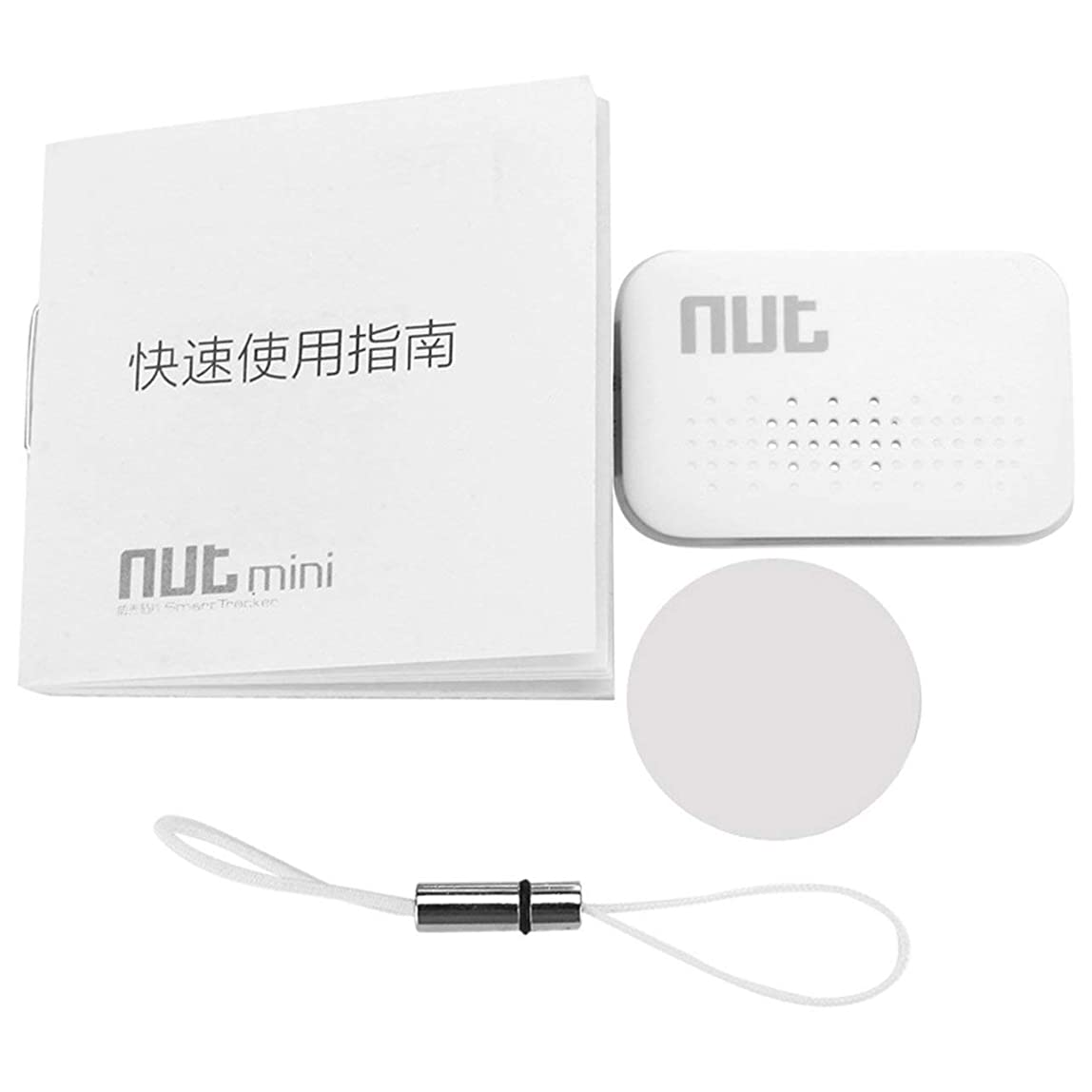 for NUT Mini F6 Smart Tag Tile Tracker Key Finder Locator Anti Lost Found Alarm for Security lbvllly664246