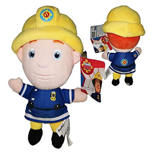Feuerwehrmann Sam (Fireman Sam) - PlüschFeuerwehrmann Sam Jones 10'62/27cm Qualität super Soft
