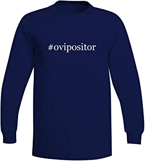 The Town Butler #Ovipositor - A Soft & Comfortable Hashtag Men's Long Sleeve T-Shirt