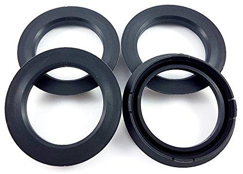 4x Zentrierringe 74 1-56 1/74,1mm auf 56,1mm Dunkelgrau