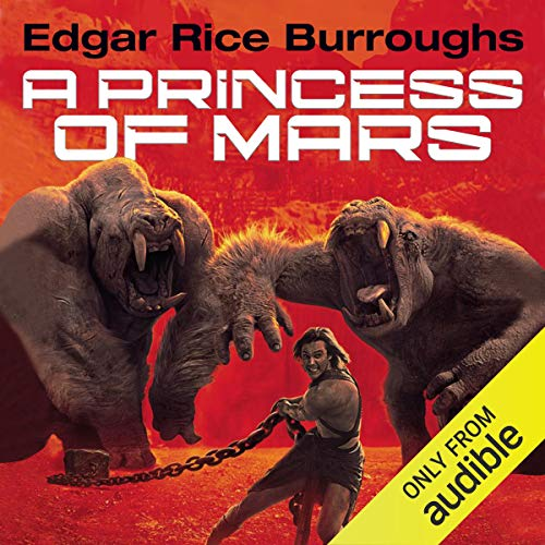 A Princess of Mars Audiobook By Edgar Rice Burroughs cover art