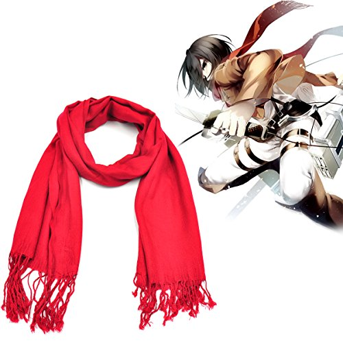 CoolChange Attack on Titan Schal von Mikasa Ackermann
