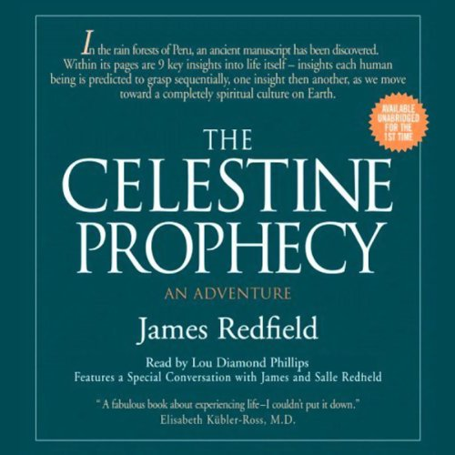The Celestine Prophecy audiobook cover art