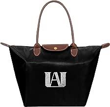 My Hero Academia UA High Waterproof Leather Folded Messenger Nylon Bag Travel Tote Hopping Folding School Handbags