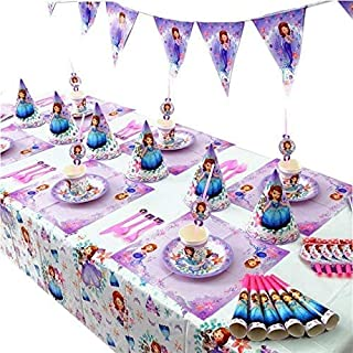 مجموعة زينة اعياد الميلاد من جالف ديلز للفتيات باللون البنفسجي