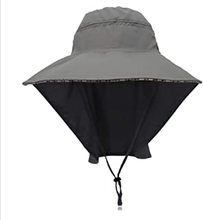 YSNRH Hat Sun Hat Men Women Summer Outdoor UV Outdoor Beach Hat Caps for Trekking Hat Hat Foldable Adjustable Chin Strap and Breathable Camping,Outdoor,Hiking,Summer (Color : E)