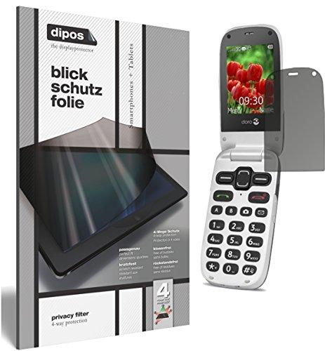 dipos I Blickschutzfolie matt kompatibel mit Doro Secure 628 Sichtschutz-Folie Bildschirm-Schutzfolie Privacy-Filter