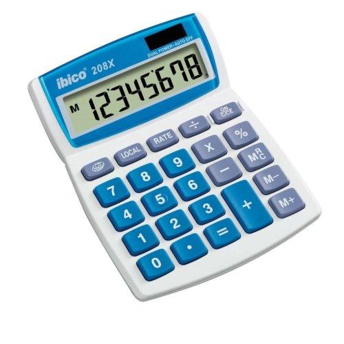 Calculadora sobremesa impresi/ón con 12 d/ígitos y Pantalla LCD Olivetti Logos 902