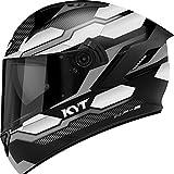 KYT Integral Nf-R, Hexagon Matt Plata, Talla S 55-56 cm