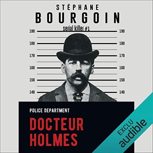 Docteur Holmes audiobook cover art