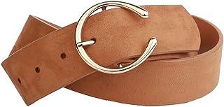 Earnda Leather Belt Women's Western