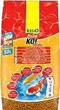 Tetra Pond Koi Sticks Hauptfutter (in Form hochwertiger, schwimmfähiger Futtersticks speziell für Koi entwickelt), 50 liters Beutel