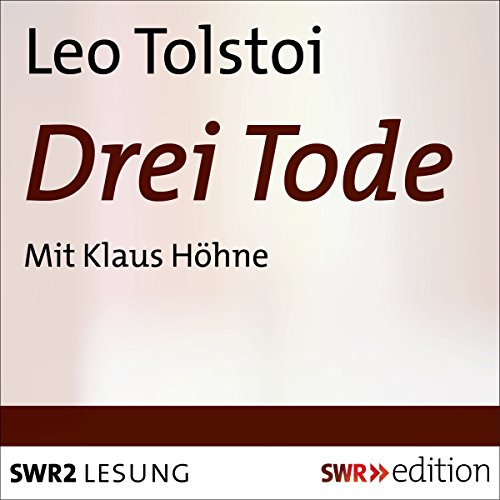 Drei Tode audiobook cover art