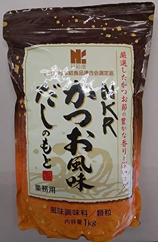 リケン NKR かつお風味だし 1kg 風味調味料 ( カツオ ) 顆粒 ほんだし