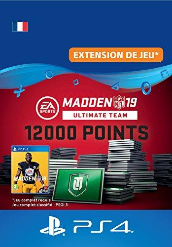 Madden NFL 19 Ultimate Team 12000 Points Pack - 12000 Points DLC | Code Jeu PS4 - Compte français