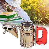 minifinker Affumicatore Elettrico per api, affumicatore Elettrico Durevole e con Funzione di Ricarica per sottomettere o Guidare Le api per Apicoltore