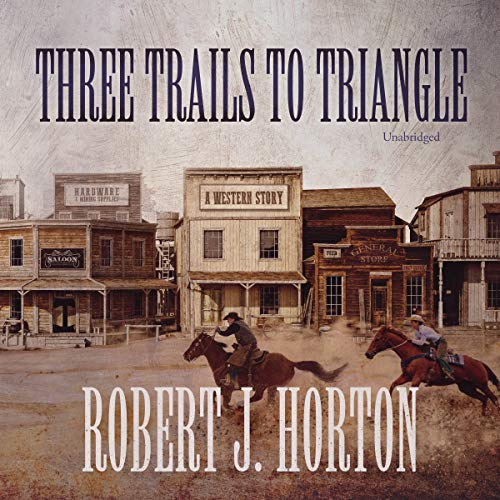 Three Trails to Triangle audiobook cover art