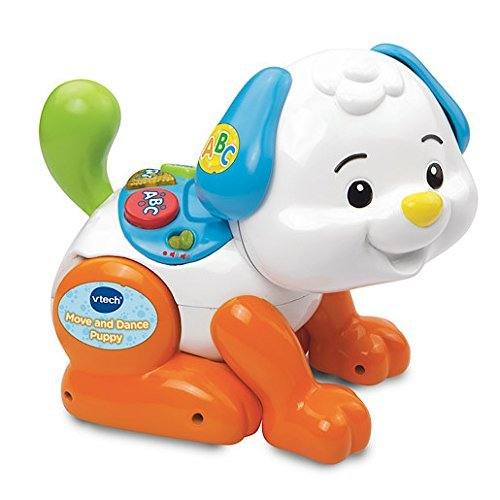 VTech Baby 146903 Shake and Move Puppy - Multi-Coloured