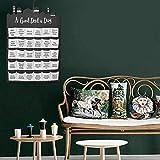Ramadan - Calendario de adviento 2021 para niños, diseño de Eid Mubarak, color negro