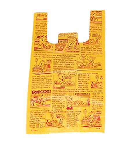 アズワン アメリカンコミック レジ袋 30×55(39)×横マチ15 入数2000枚/61-7267-17