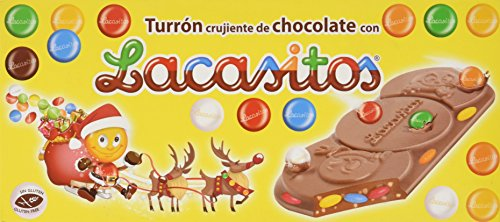 Lacasitos Crujiente de Chocolate con Lacasitos Turrón - 200 gr