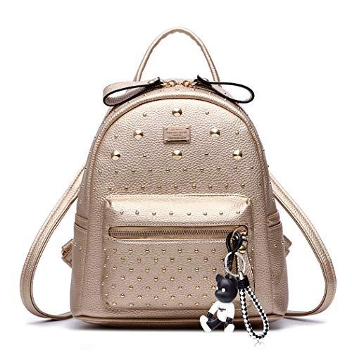 DEERWORD Damen Rucksackhandtaschen Schultertaschen Schulrucksack Tagesrucksack...