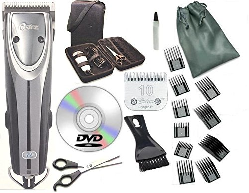 Oster 2-Speed Outlaw Dog Animal Clipper with Case,DVD,Shears and #10 Blade A5...