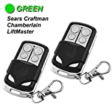 2 Pack - Garage Door Opener Remote Replacement for LiftMaster 81LM 82LM 83LM - Chamberlain 850CB 853CB 856CB - Craftman 139.53879, 139.53859