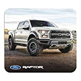 Ford F-150 Raptor Graphic PC Mouse Pad - Custom Designed for Gaming and Office (White)