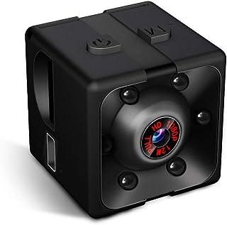 Supoggy Mini Cámara Espía Full HD 1080P Cámara Portátil Pequeño Tamaño con Visión Nocturna, Grabación y Detección de Movim...