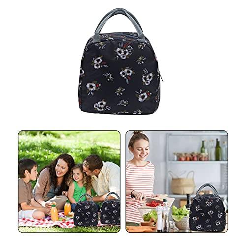 TianWlio Kühltasche Klein Leicht Lunch Tasche Isoliertasche zur Arbeit Schule Wasserdicht Reißverschluss