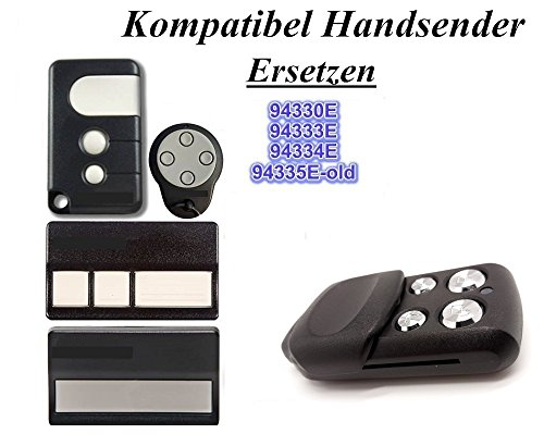 Chamberlain Motorlift 84330EML, 84333EML, 84334EML, 84335EML, 94335EML Garagentor Sender Ersatz, 4 Kanal Kompatibel Handsender Ersatz