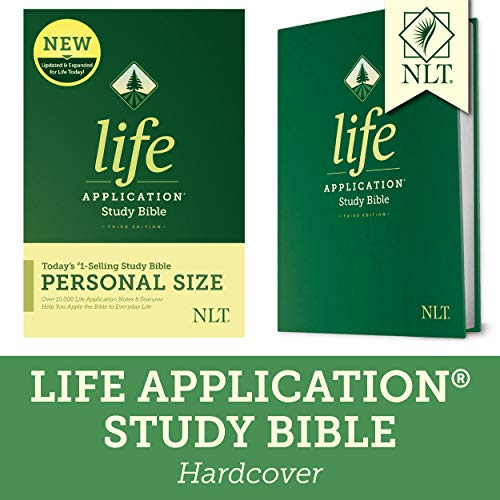 Compare Textbook Prices for Tyndale NLT Life Application Study Bible, Third Edition, Personal Size Hardcover – New Living Translation Bible, Personal Sized Study Bible to Carry with you Every Day 3 Edition ISBN 9781496440051 by Tyndale