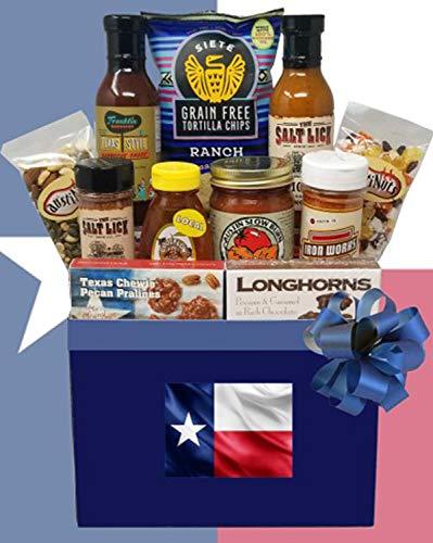 Tastes of Texas Texas Gift Basket