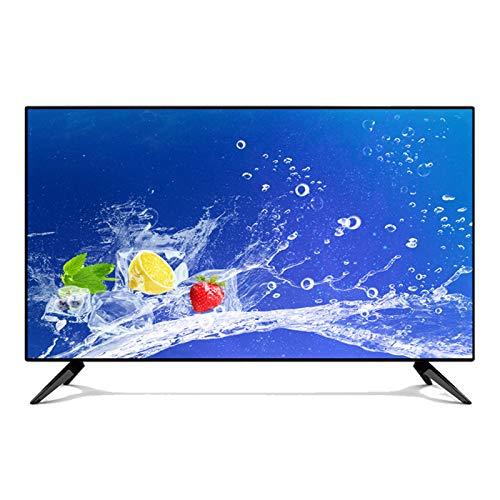 yunyun Smart TV, 24/32/42/50 Pulgadas HD 1080p Reproducción TV de Pantalla Plana HDMI VGA Integrado Puerto óptico Frecuencia de actualización TV HD de 60 Hz