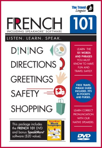 French 101 DVD with SpeakMore French Software
