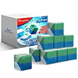【Effective in CLEANING】- Vacplus Duo-Cubes toilet bowl cleaner tablets effectively help you clean the tank, water pipe and other parts of the toilet. 【LONG-LASTING CLEANING】- The blue part with efficient cleaning factor automatically keeps the toilet...