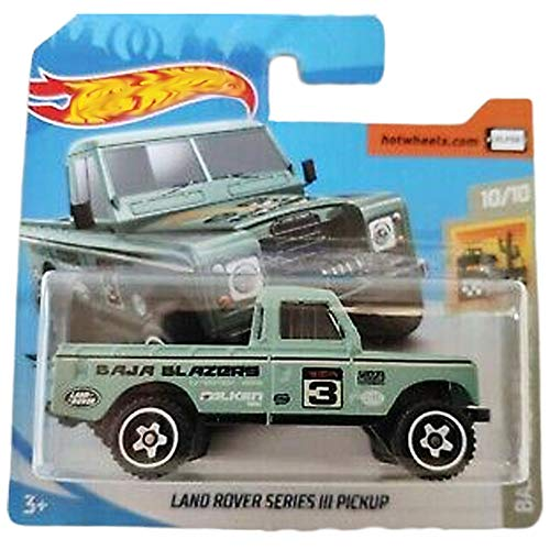FM Cars Hot-Wheels Land Rover Series III Pickup Baja Blazers 10/10 (3/250) 2020