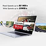 KOOTION 64GB Micro SD Card Class 10 TF Card UHS-1 MicroSDXC Memory Card, U1, C10, High-Speed 64GB TF Card for Smartphone… 10 【Widely Used】The 32 GB micro SD card is perfect for Android smartphones, tablets, digital cameras, game consoles, dash cameras, drones and surveillance system etc; It can use to store or back up high-res photos, videos, documents, music and more. 【Fast Transfer Speed】The TF memory card adopts Speed Class UHS-I(U1) and Class 10(C10) and provides you with 90MB/s of read speed and 25MB/s of write speed, and supports full HD video recording. (The Performance may vary based on host device, interface, usage conditions, and other factors.) 【Reliability & Security】The Micro SD card uses high-quality chip, features water-resistant, anti-magnetic, shockproof, high or low temperature resistant, and always keeps data safe.