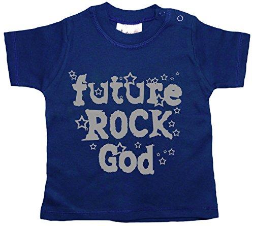 Dirty Fingers, Future Rock God T-shirt pour bébé garçon - Bleu - XXS