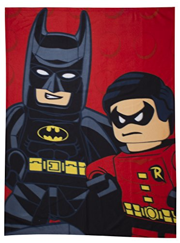 Character World Manta de Forro Polar, diseño de Batman Lego
